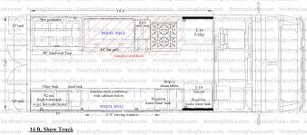 Gmc Motorhome Floor Plans by Flooring Frightening Food Truck Floor Plans Photo Design Burgers