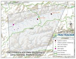 Alliance Ohio Map by Violations And Monitoring In Pennsylvania U0027s Susquehanna River Basin