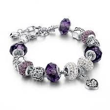 pandora bracelet murano beads images Charm 3 hearts pandora bracelet snake bangles ken bracelets shop jpg