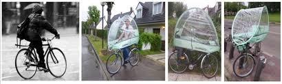 protection siege enfant roofbi un système pour se protéger de la pluie à vélo