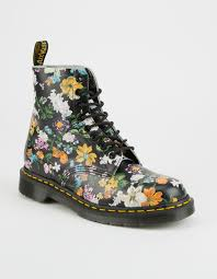 womens boots dr martens dr martens darcy floral pascal womens boots 304639149 boots