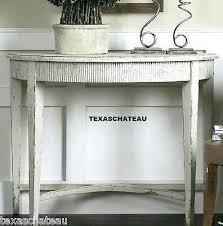 half circle accent table french accent table french country sofa tables brilliant half round
