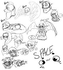 doodles of fun ouahs by nine broken clocks on deviantart
