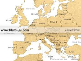 World Map Hungary by Printable Personalized World Map With Countries Us States