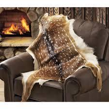 Deer Hide Tanning Companies Axis Deer Hide 40814 Decorative Accessories At Sportsman U0027s Guide