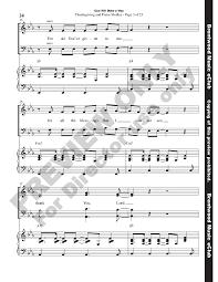thanksgiving medley god will make a way satb choral score j w pepper sheet music