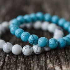 blue bead bracelet images Bracelets nicole 39 s treasures jpg