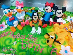 and friends cake mickey mouse and friends cake by 6eki on deviantart