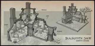 blacksmith shop floor plans alchemist room by wang2dog on deviantart
