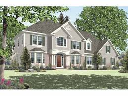 new american house plans new american house plan with 3350 square feet and 4 bedrooms from