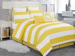 Yellow Bedding Set Delia Stripe 8pc Comforter Set Yellow