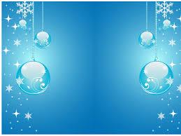 christmas stars and balls blue ppt backgrounds christmas stars