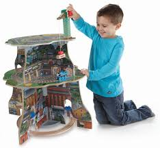 fisher price thomas the train table amazon com fisher price thomas wooden railway up and around sodor