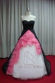 fuschia wedding dress pink and black wedding dresses weddingcafeny