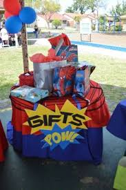 Superman Birthday Party Decoration Ideas Superhero Themed Birthday Party And Matching Printables With A