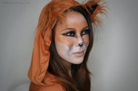 fox halloween tutorial from head to toe