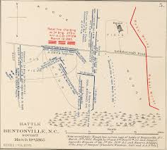 Map Of Wilmington Nc Battles In North Carolina