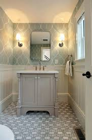 wallpaper ideas for small bathroom best small bathroom wallpaper ideas on halfdesigner for bathrooms