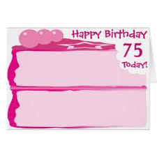 happy birthday 75 greeting cards zazzle com au