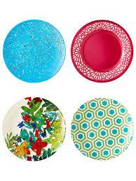 plastic dinner plates melamine plates