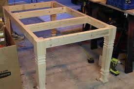 Woodworking Plans For Kitchen Tables by Diy Farmhouse Table Free Plans Rogue Engineer