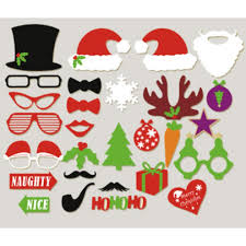christmas xmas party photo props photo pack gift 11street