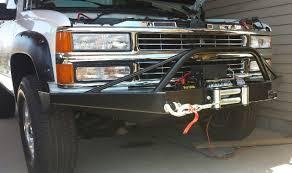 jeep cj prerunner chevy 1500 2500 3500 front pre runner winch bumper 88 98