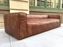 leather sofa distressed leather sofa brown larkin 3 seater