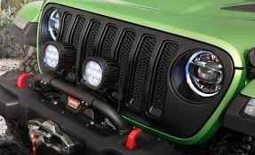jeep wrangler custom lights mojitos and lift kits the 2018 jeep wrangler jl is all ready for