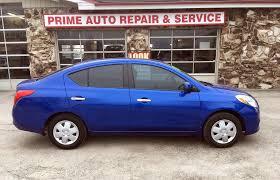 nissan versa blue 2012 nissan versa sv prime auto