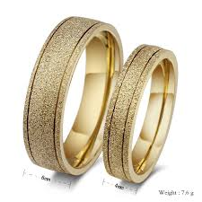 wedding ring designs gold new frosted ring 18k gold engagement wedding rings