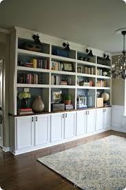diy built in bookcases dining room turned library diy