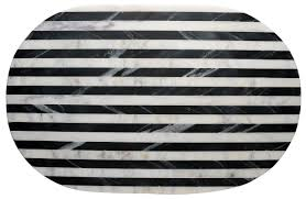thirstystone old hollywood striped marble serving tray u0026 reviews
