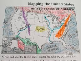 Map Worksheets Map Clipart Landform Pencil And In Color Map Clipart Landform