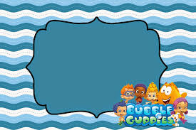 bubble guppies free printable invitations birthday ideas