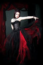 Gothic Wedding Dresses Red And Black Gothic Wedding Dresses Fashion Trendy