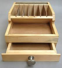 wooden pliers rack with storage drawers bench tool organizer wood