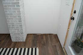 mudroom progress installing vinyl plank flooring house