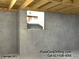 Basement Window Dryer Vent by Concrete Core Drilling For Dryer Vent And Pellet Stove Boston Ma