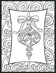 ornaments coloring pages printable size of ornament