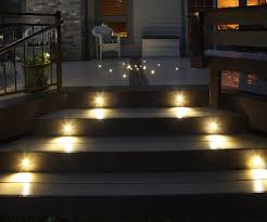 image of outdoor stair lighting photos
