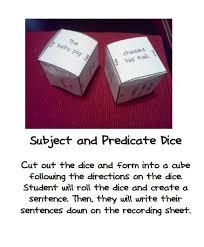 best 25 subject predicate activities ideas on pinterest subject