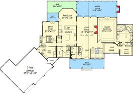walkout basement floor plans mountain ranch with walkout basement 29876rl architectural