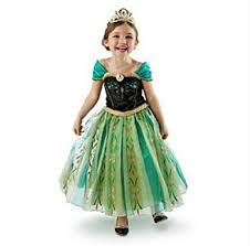 amazon com daheng girls princess green anna fancy dress costume