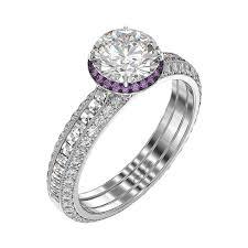 amethyst engagement rings amethyst engagement ring