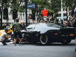 fast and furious 8 cars see the amazing cars of fast 8 filming in new york city the drive