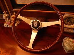 rolls royce steering wheel rolls royce corniche wood steering wheel nardi nos new ebay