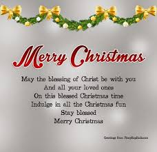 merry may the blessing of be with you and all your