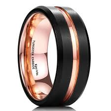 titanium wedding band reviews black titanium wedding band