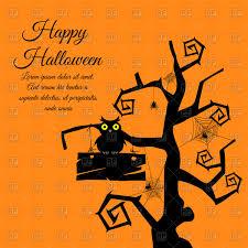 cute halloween card vector clipart image 110142 u2013 rfclipart